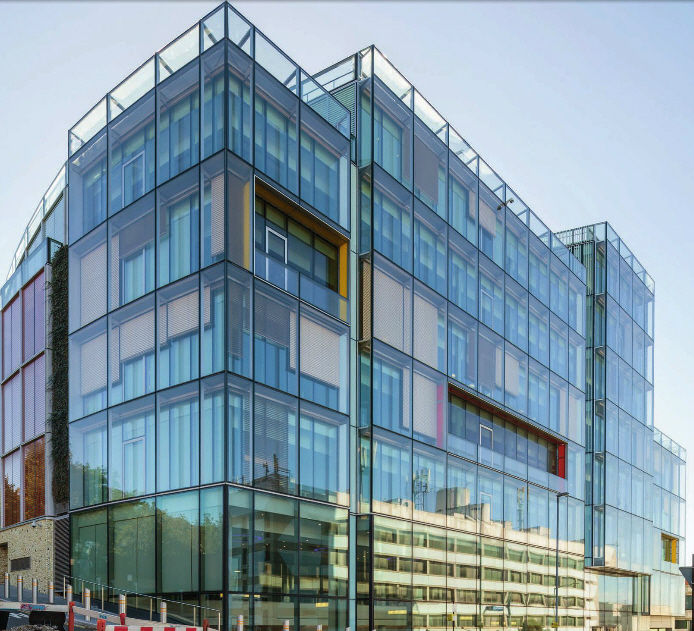 Panel curtain wall / metal and glass - 1 JOHN STREET by EPR ...