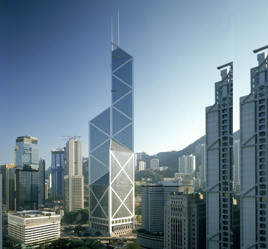 The Bank of China Tower. Source: Archi Expo
