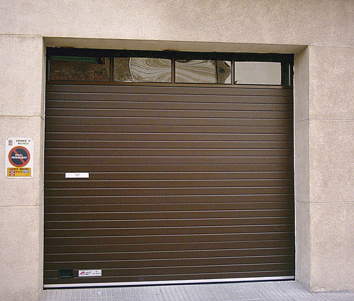 Sectional Garage Door Glass Aluminum Automatic Alumix