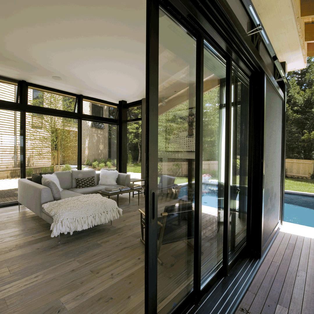 Etonnant Sliding Patio Door / Aluminum / Double Glazed   5820 SERIES