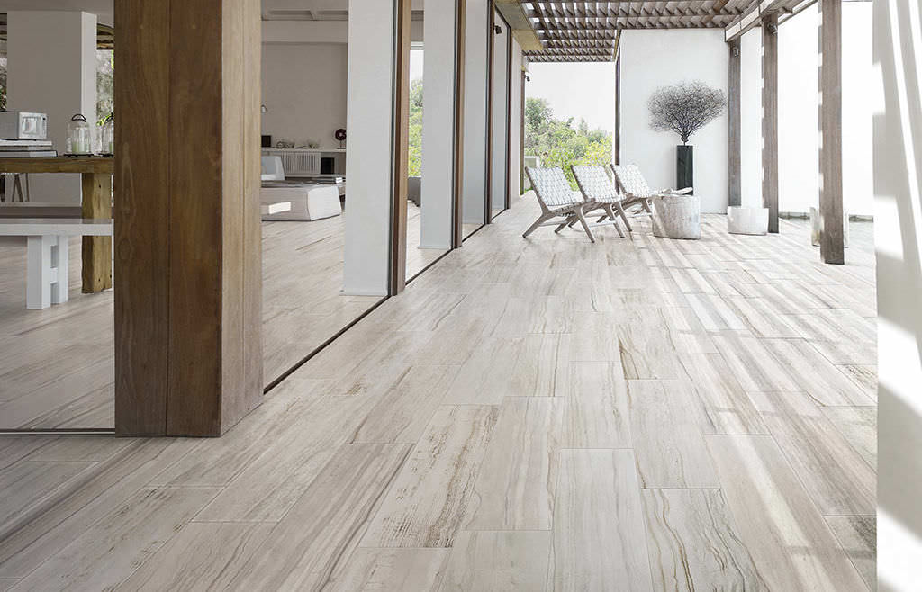 Indoor Tile Floor Porcelain Stoneware Textured STONE MIX STRIATO WHITE Italgraniti Group