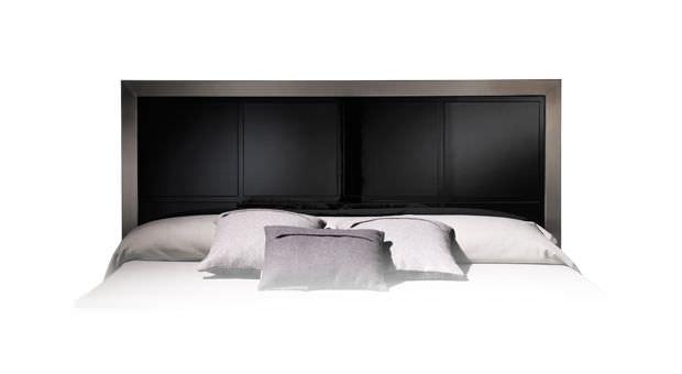 Double Bed Headboard Contemporary Metal