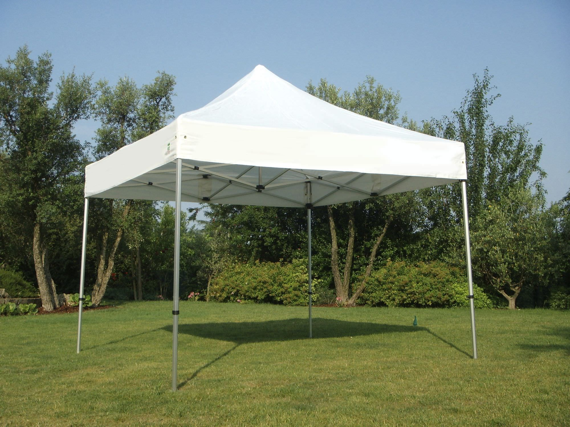 Aluminum gazebo / fabric roof - SPIDER BRAVO & Aluminum gazebo / fabric roof - SPIDER BRAVO - FRAMA ACTION