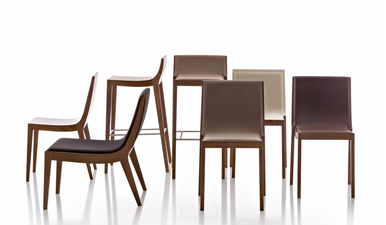 contemporary restaurant chair  fabric  moka by thibault desombre  - contemporary restaurant chair  fabric moka by thibault desombre fornasarig