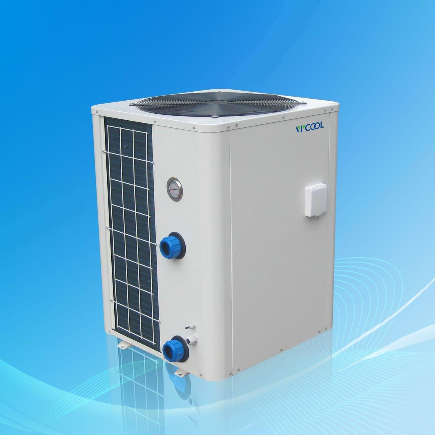 Heat Cool Air Source Heat Pump For Swimming Pools Vx Series V Cool