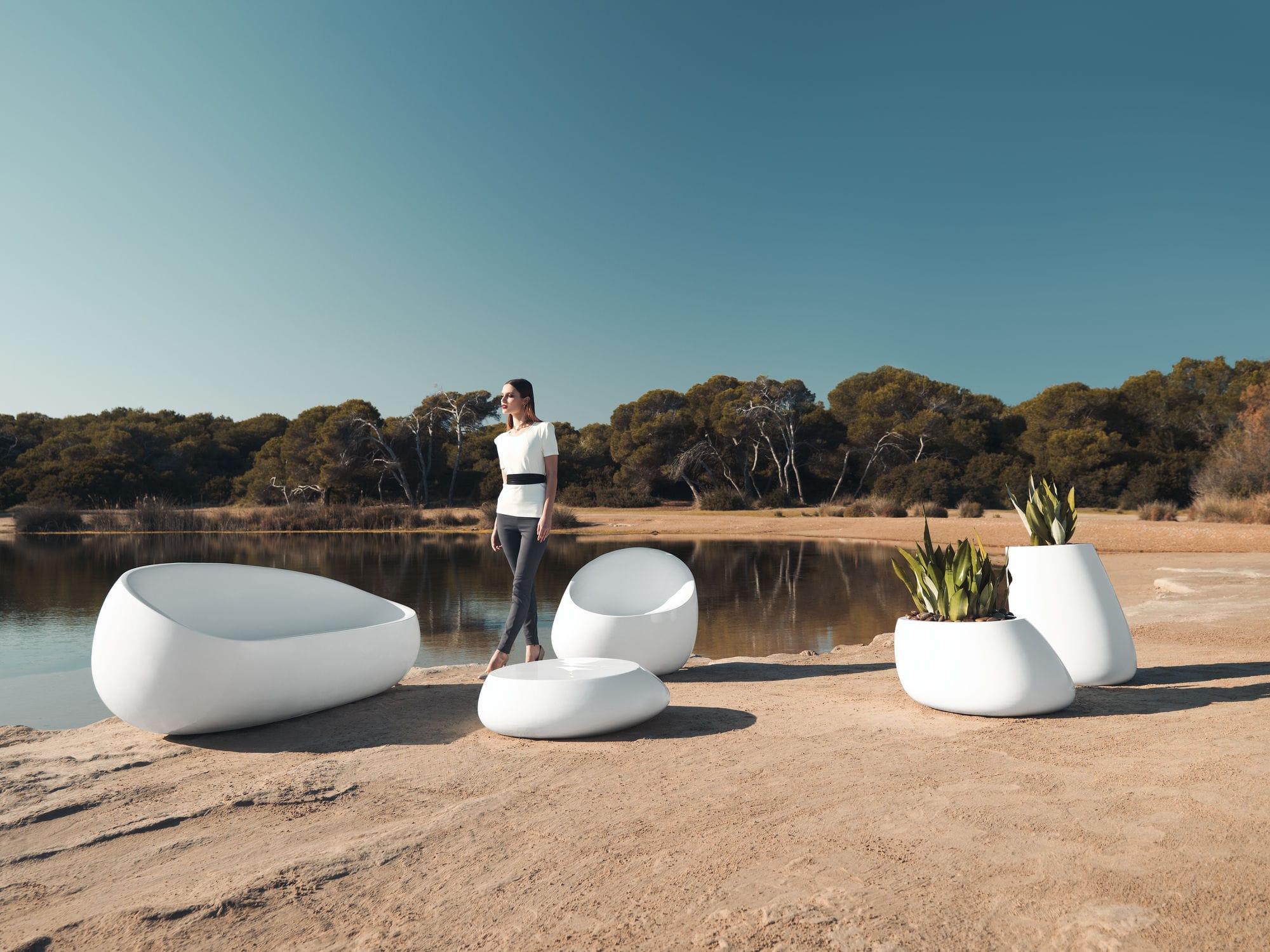 Original design sofa garden polyethylene 2 person