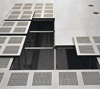 Aluminum Raised Access Floor / Indoor / For Clean Rooms   PRODATA