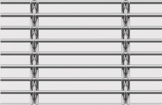 Solar shading woven wire fabric / for fencing / stainless steel ...