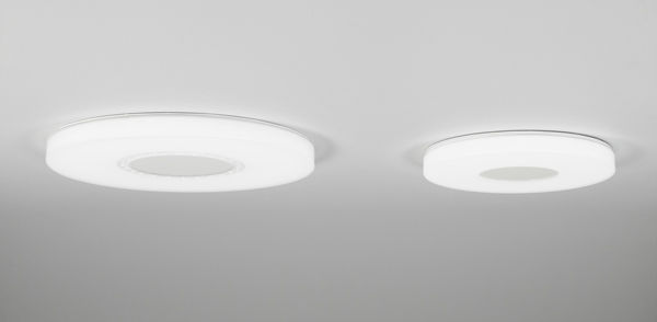 Amazing ... Surface Mounted Light Fixture / Recessed Ceiling / LED / Round ...