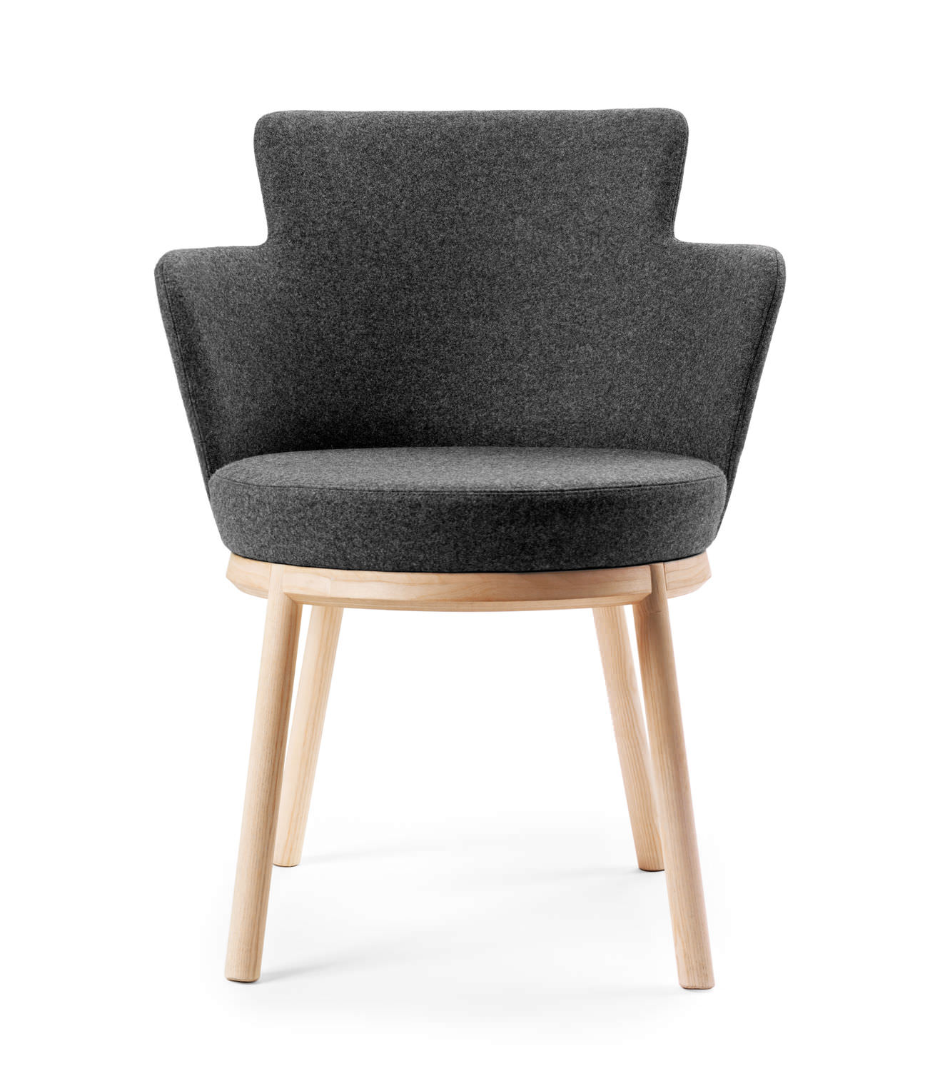 Superieur Contemporary Chair / Upholstered / With Armrests / Fabric ...