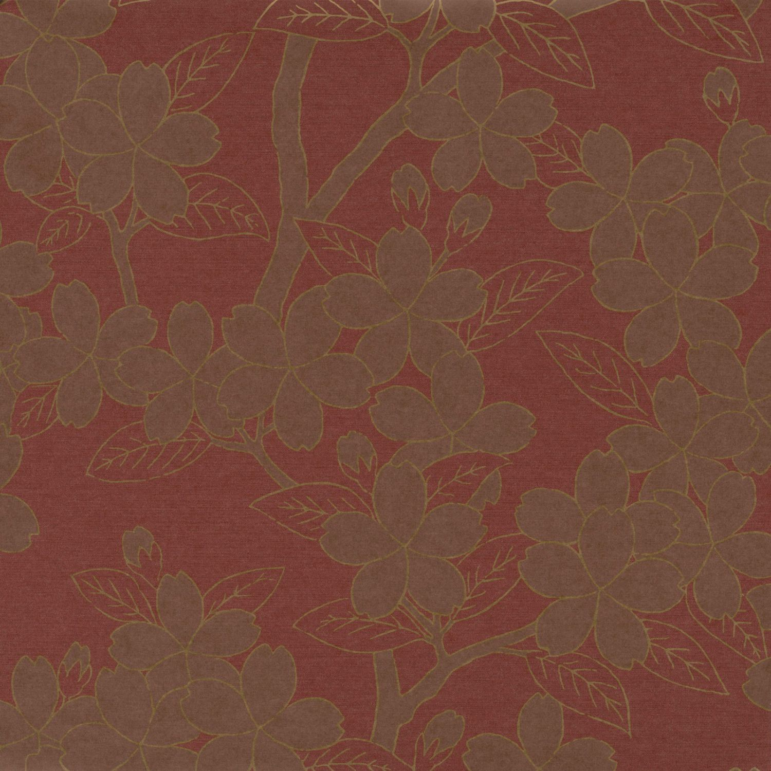 Traditional wallpaper silk floral CAMELLIA SERIES The