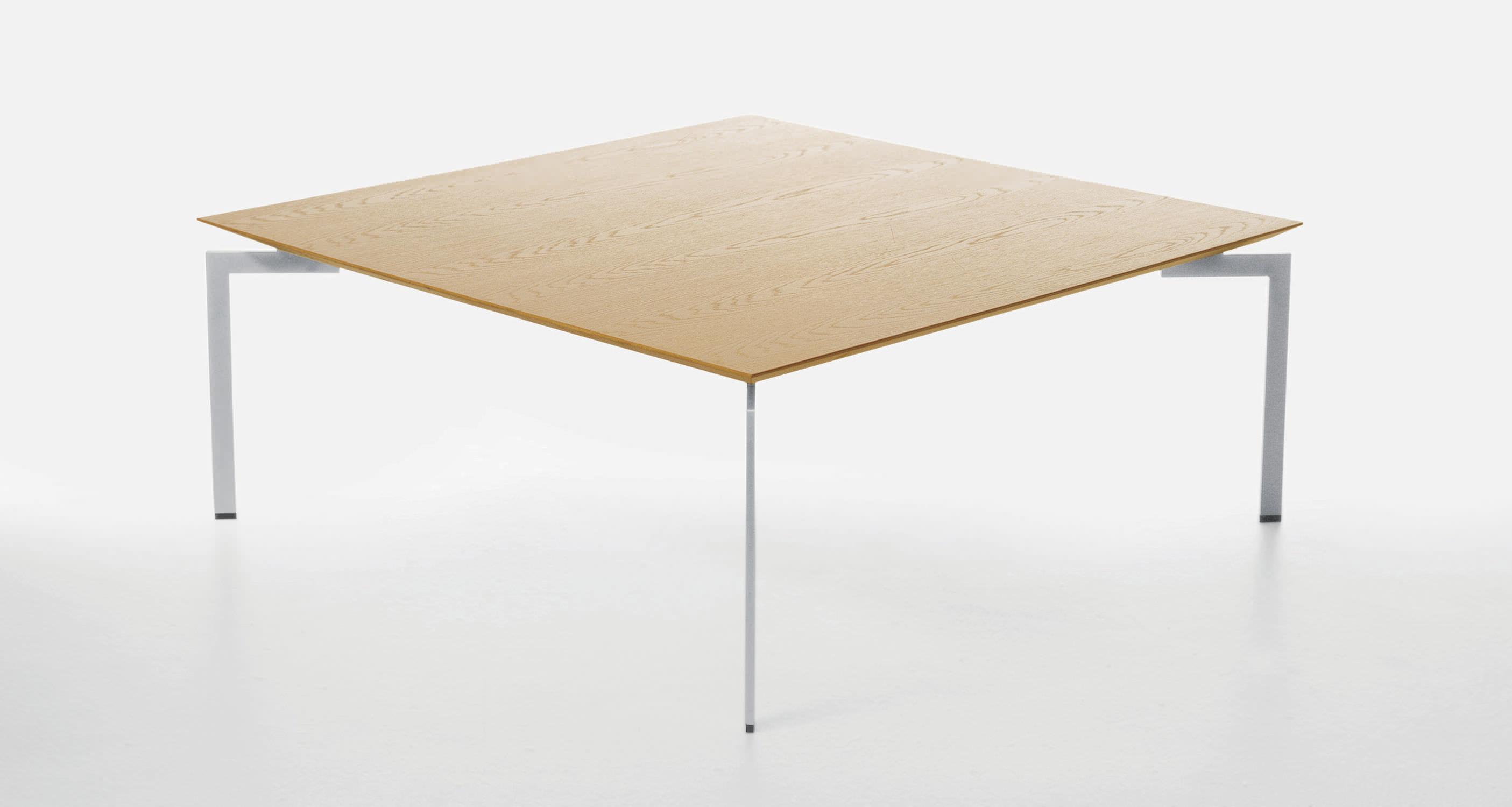 contemporary coffee table / metal / oak / walnut - trippoulla