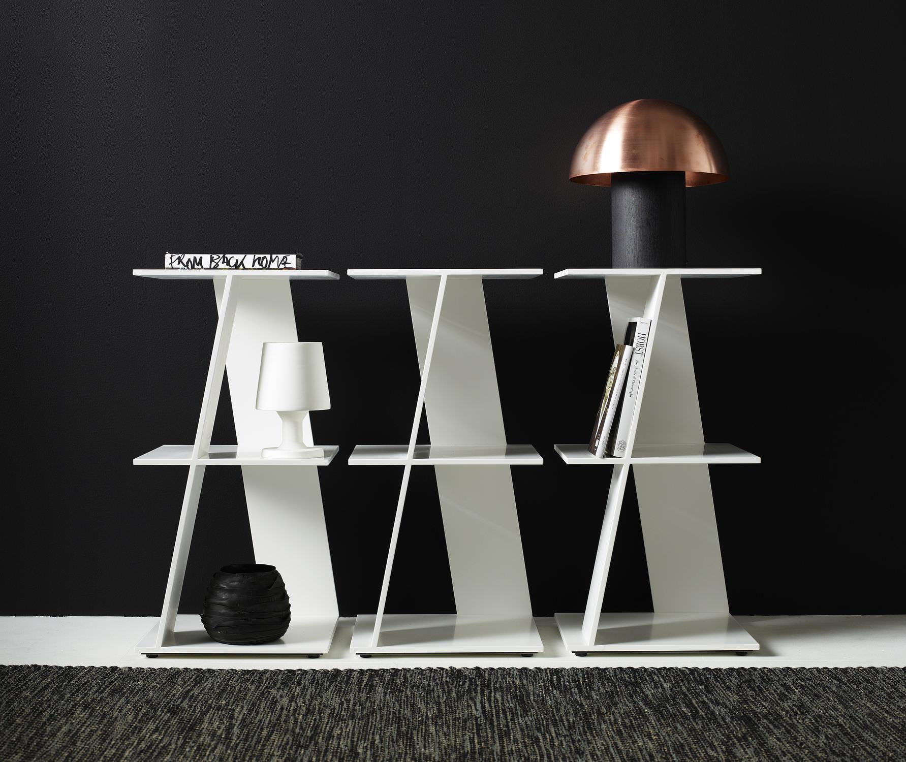 Contemporary Shelf Hi Macs Cerco By Federico Churba Karl  # Muebles Federico Churba