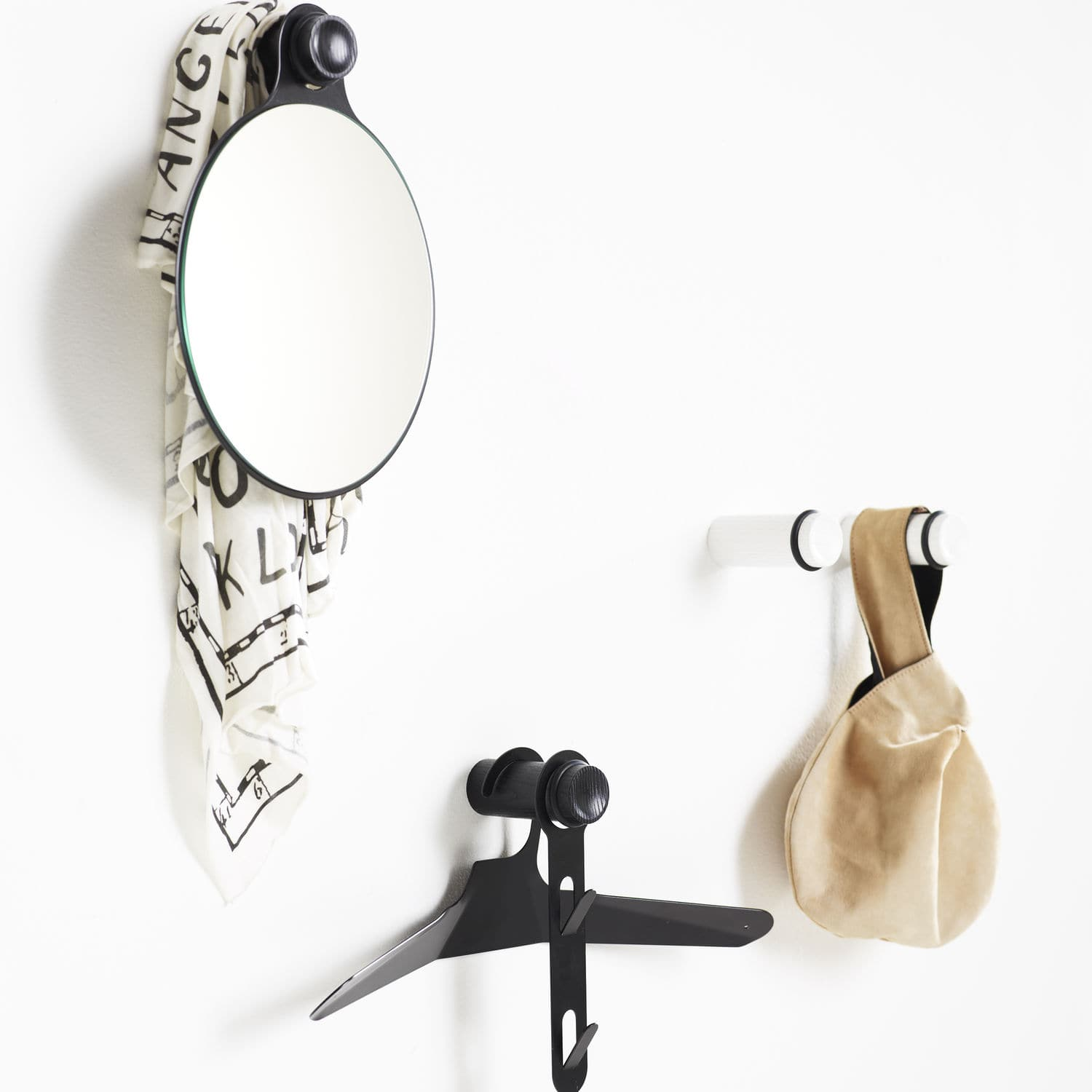 coat hook wooden knob by patrik hansson karl andersson