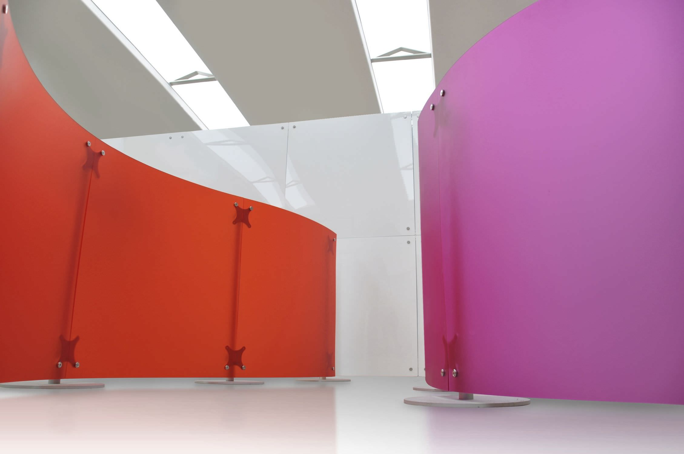 Delicieux Contemporary Screen / Polycarbonate / Commercial   FLUOWALL MOVABLE