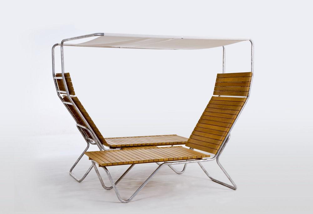 Contemporary sun lounger / wooden / garden / canopy - UNI  sc 1 st  ArchiExpo & Contemporary sun lounger / wooden / garden / canopy - UNI ...