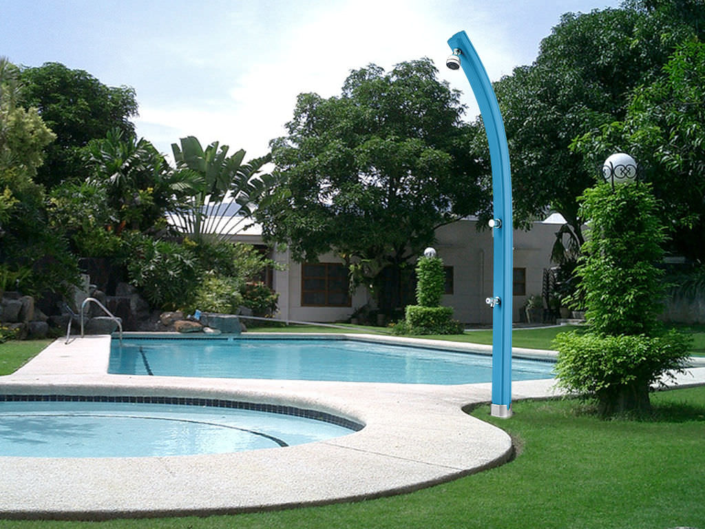 solar garden shower pe happy beach u0026 happy five arkema design
