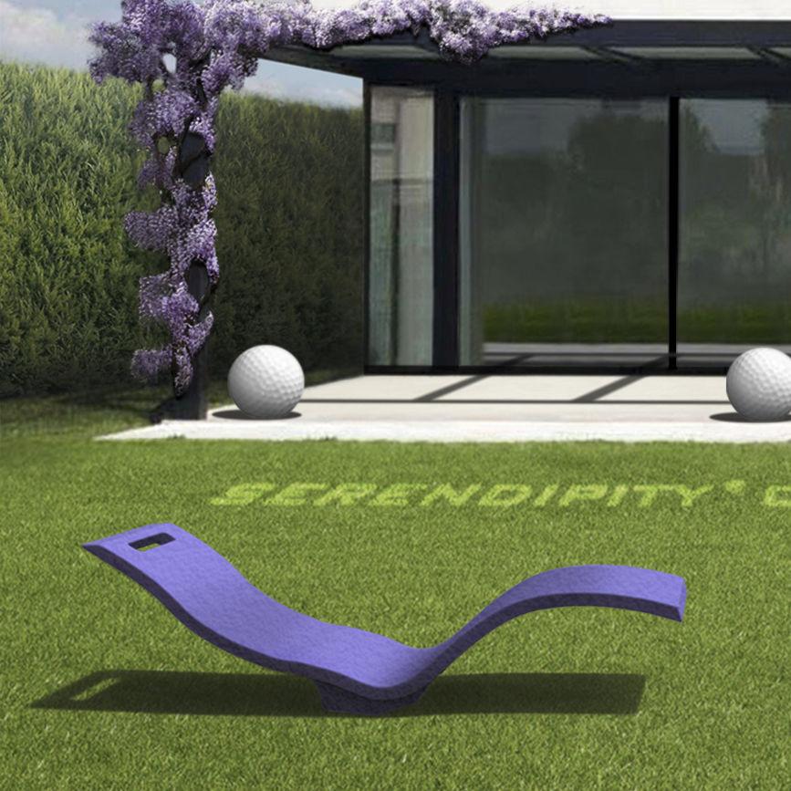 Contemporary Sun Lounger / Polyethylene / Garden / Patio   SERENDIPITY ®  CHAISE S010