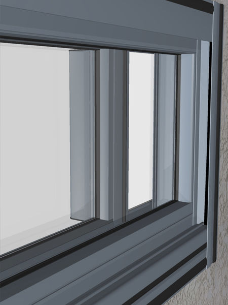 ... Sliding Patio Door / Aluminum / Double Glazed / Acoustic FACE FIX  Wintec Aluminium Windows ...