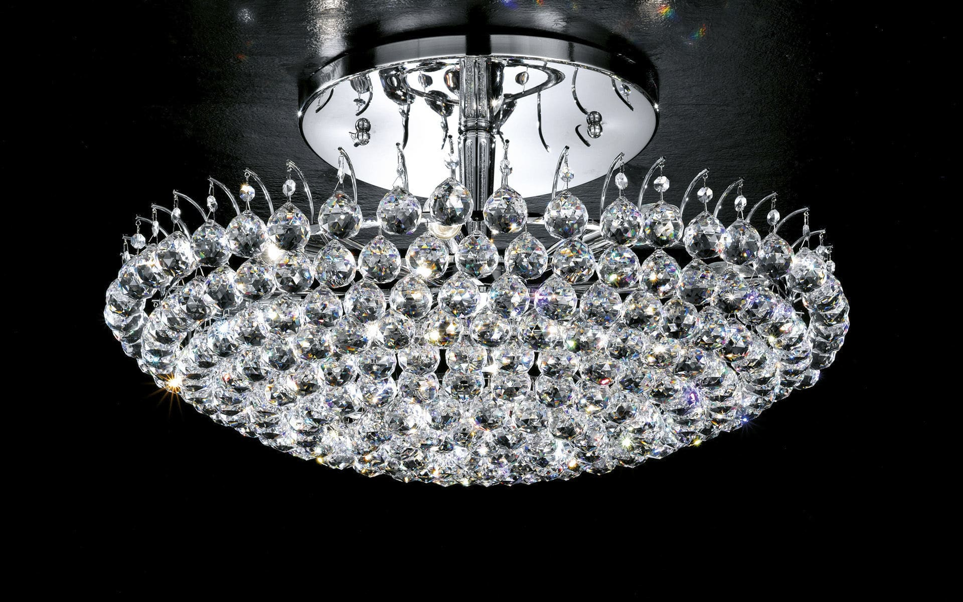 Classic ceiling light round crystal incandescent ve 808 classic ceiling light round crystal incandescent ve 808 pl84 aloadofball Image collections