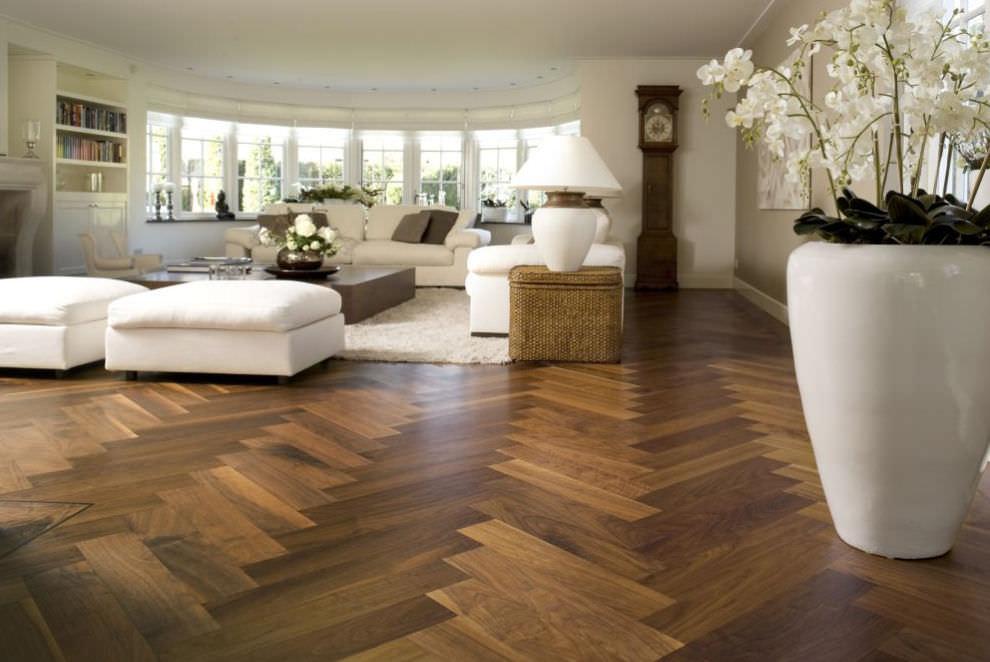Engineered parquet flooring / glued / oak / oiled - HERRINGBONE WIDE LONG  TALL BOARD CUSTOM TAILOR MADE - Engineered Parquet Flooring / Glued / Oak / Oiled - HERRINGBONE