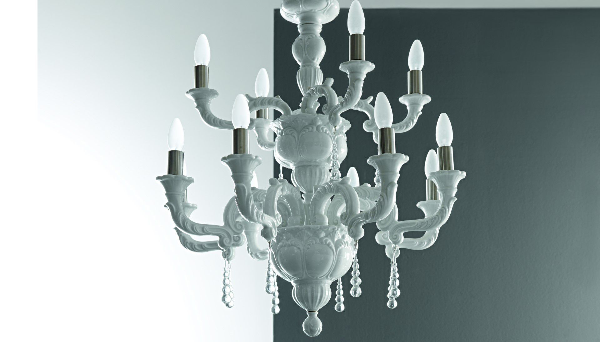Capodimonte Chandelier light catalogue Light Ideas