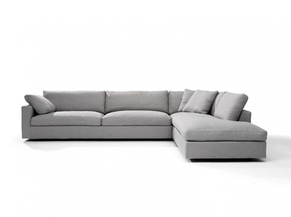 Corner Sofa / Contemporary / Fabric / 3 Seater   FABIO