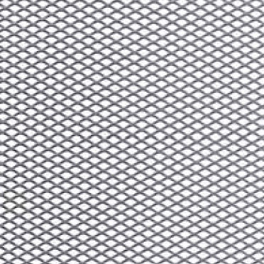 Expanded wire mesh / for partition walls / stainless steel / diamond ...