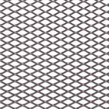 Expanded wire mesh / solar shading / stainless steel / diamond mesh ...