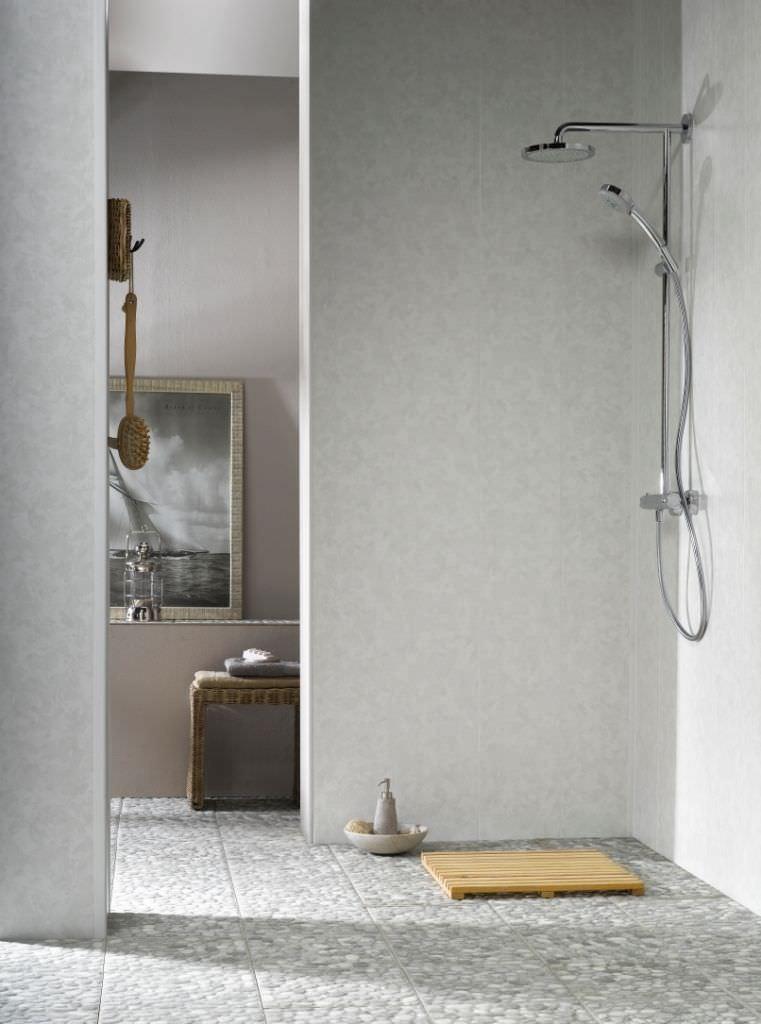 decorative panel pvc laminate wallmounted dumapan ulliano grey