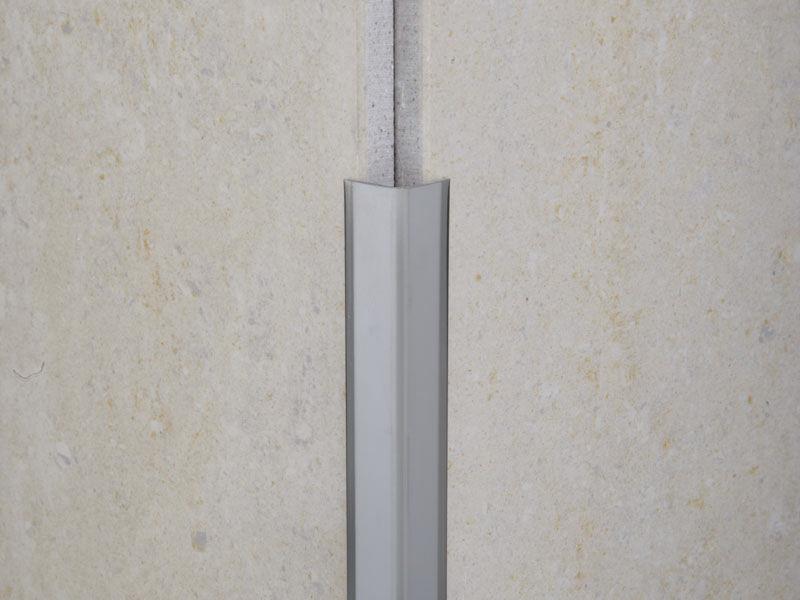 PVC edge trim / for tiles / outside corner - NOVOESCUADRA - EMAC ...