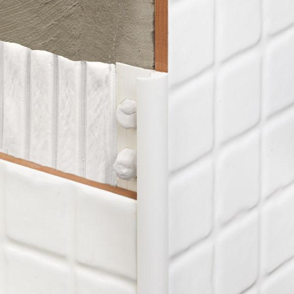 Pvc Edge Trim For Tiles Rounded Novocanto Metacrilato