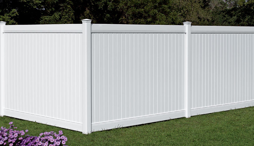 Garden Fence / With Bars / PVC   BROOKHAVEN