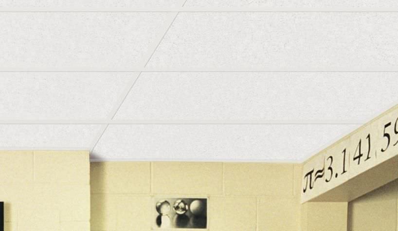 Mineral Fiber Suspended Ceiling / Tile   SCHOOL BOARD®