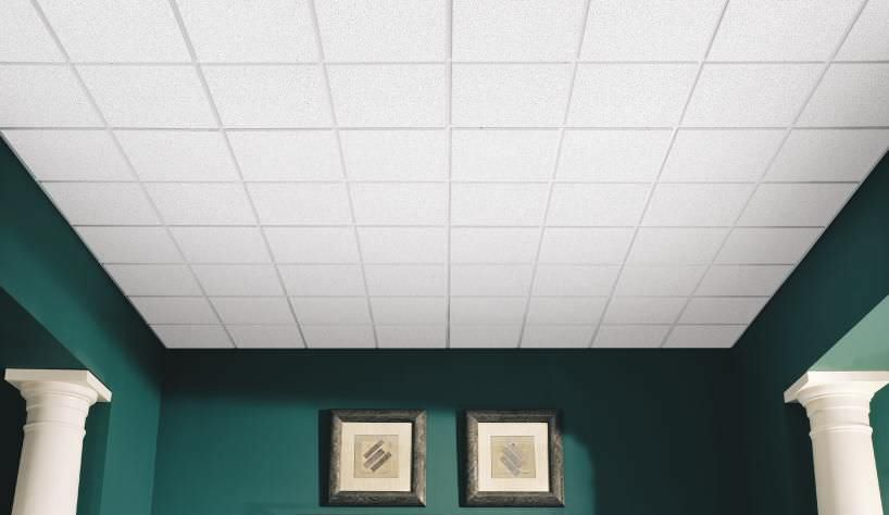 Mineral Fiber Suspended Ceiling / Panel / Acoustic   CASHMERE® HIGH NRC
