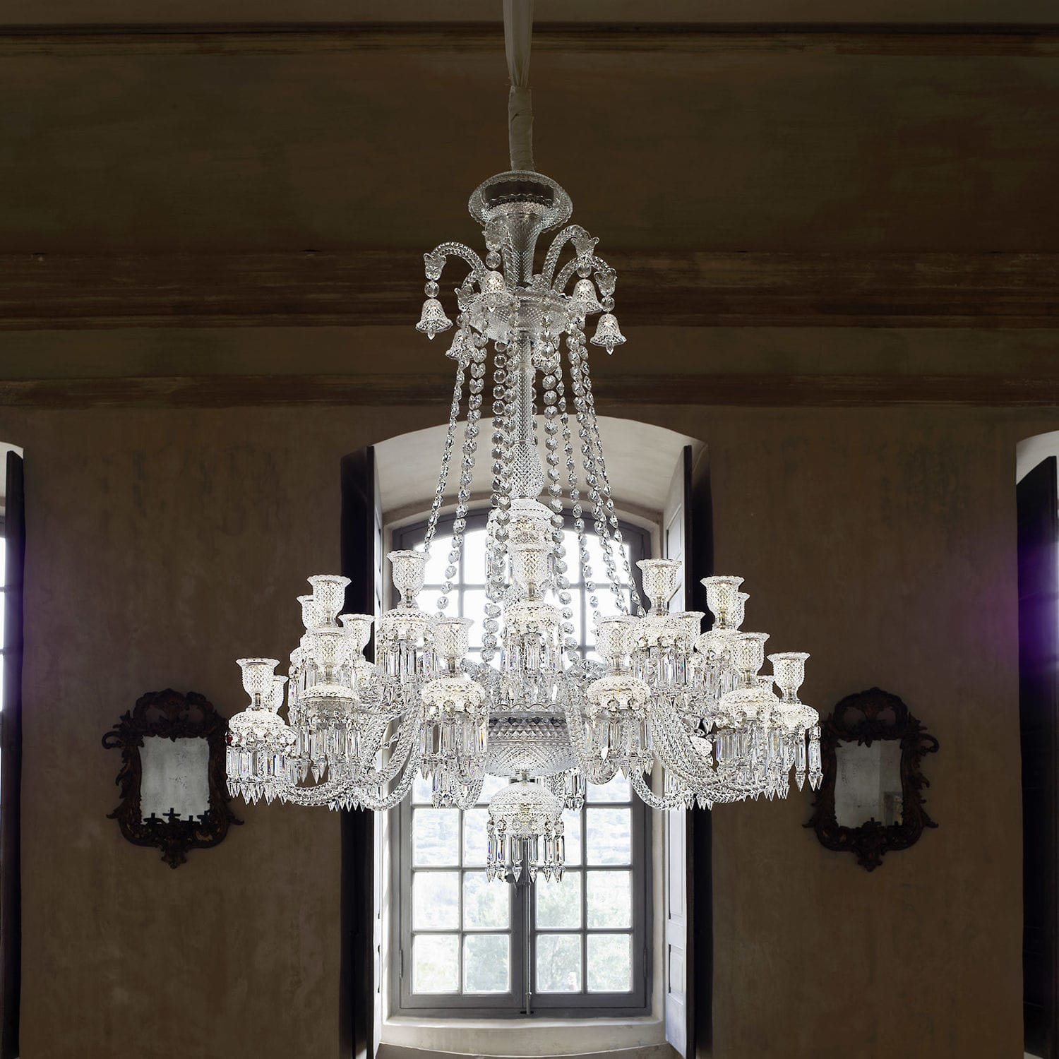 Contemporary chandelier crystal by philippe starck zenith contemporary chandelier crystal by philippe starck zenith long arubaitofo Images