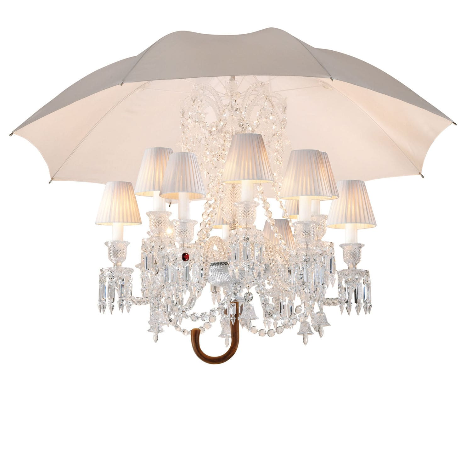 Original Design Chandelier Crystal Incandescent By Philippe Starck Marie Coquine