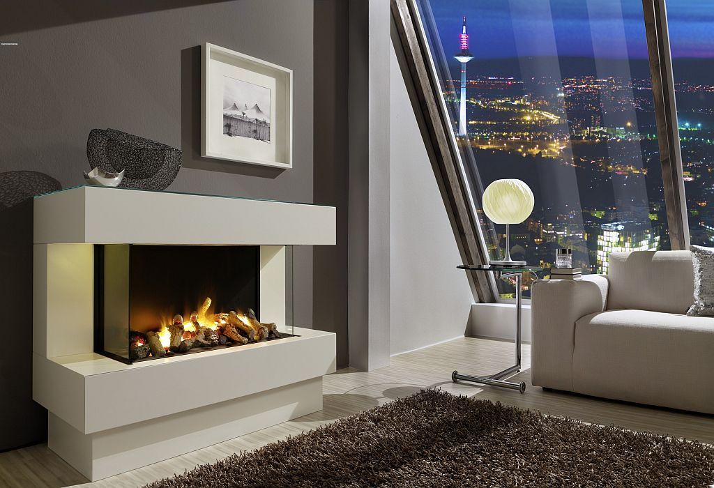 Design Kamine electric fireplace insert effect concept nr 4 l kamin