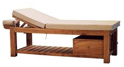 fixed massage table / with storage compartment - tugu - dynamika