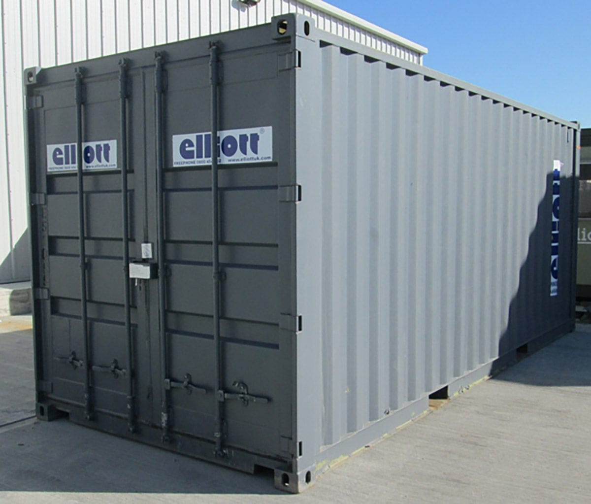 Commercial container construction storage ANTI VANDAL SECURE