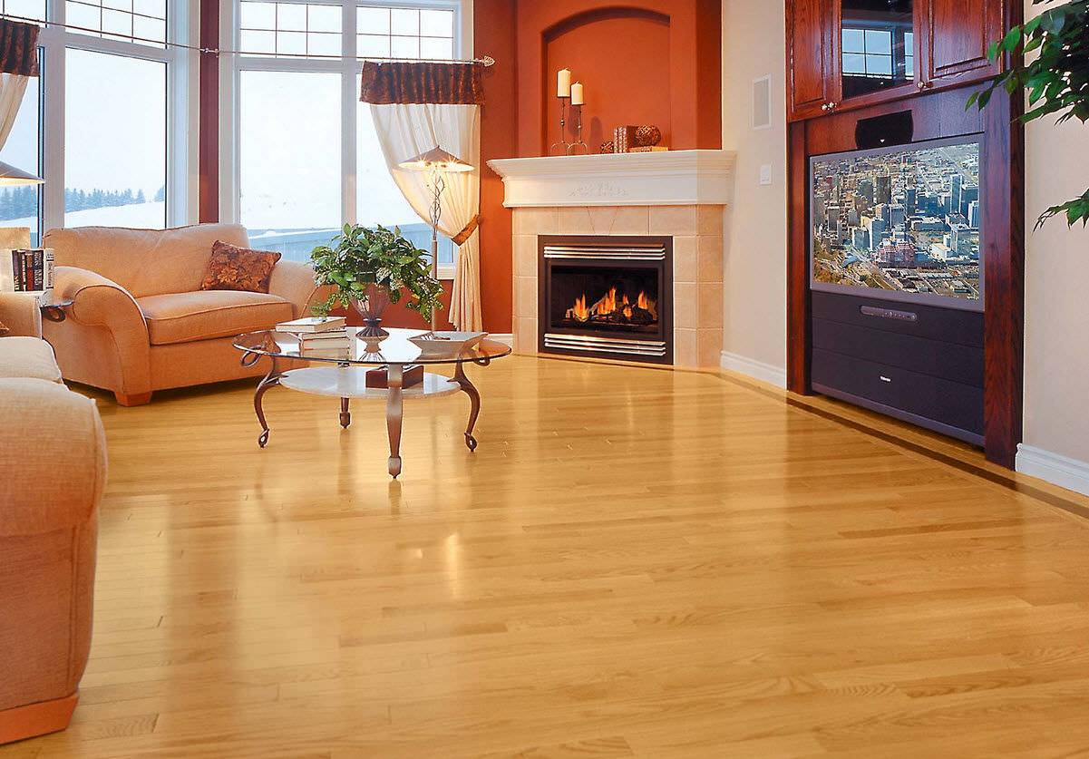 Solid Wood Flooring / Engineered / Nailed / Glued RED OAK GOLDEN Mirage