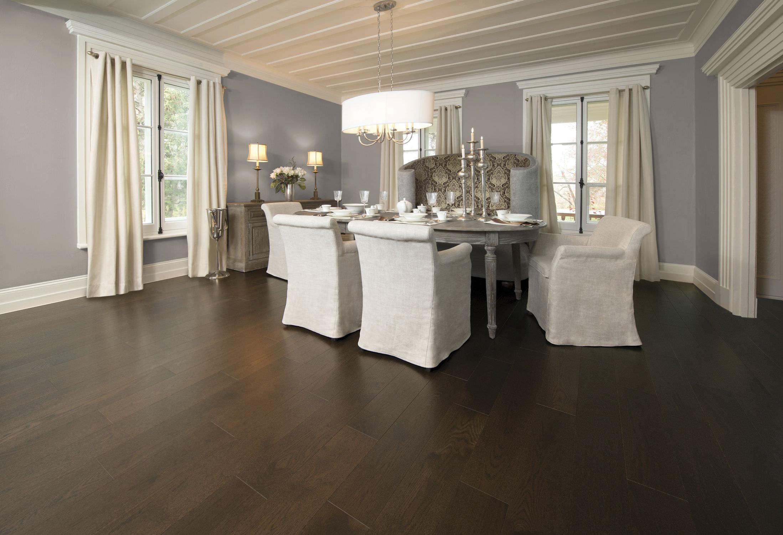 Solid Wood Flooring / Engineered / Nailed / Glued   RED OAK COFFEE