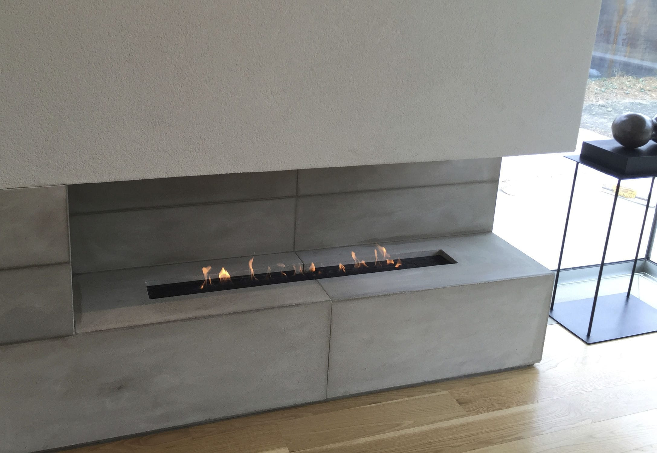 natural gas fireplace contemporary open hearth double sided