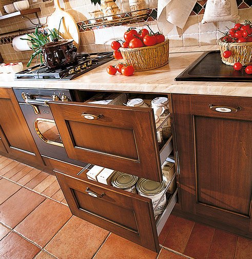 Traditional kitchen / solid wood / wooden - BORGO ANTICO 03 - Gory ...