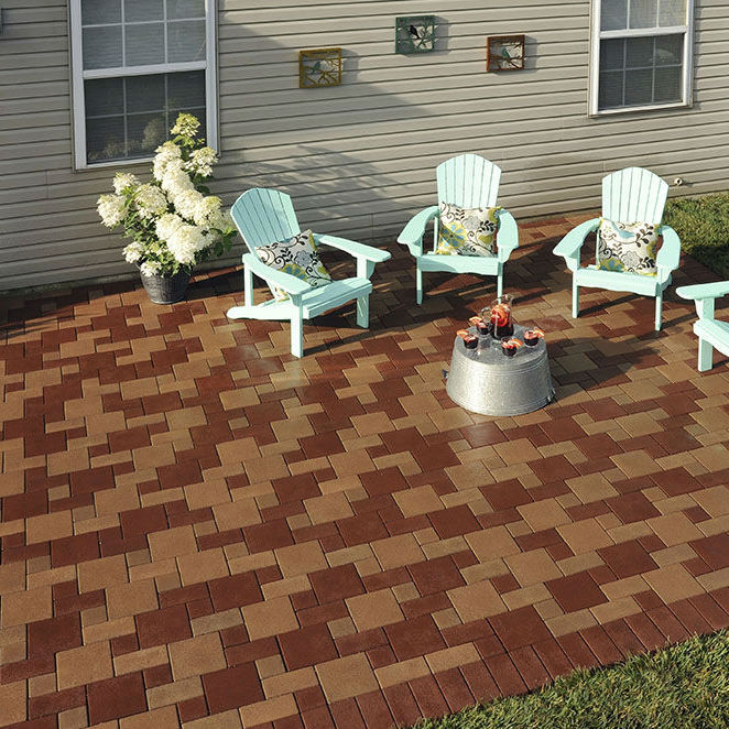 Composite Paver Made From Recycled Materials Standard