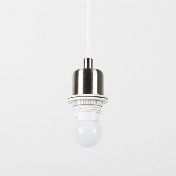 Pendant lamp contemporary steel dimmable drop