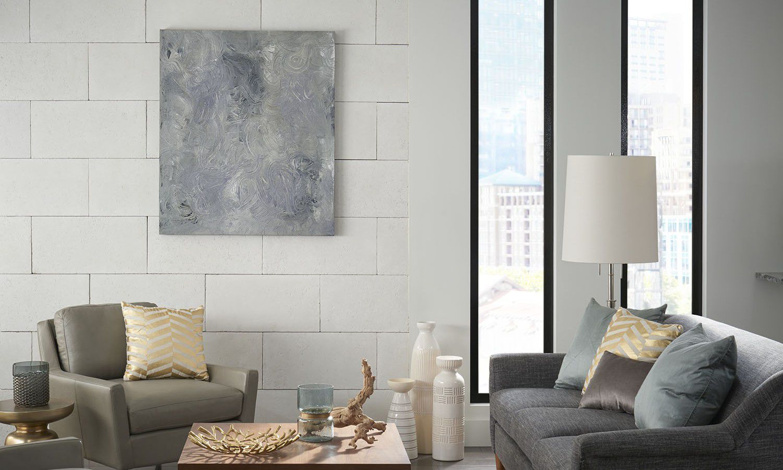 Limestone wall cladding / interior / smooth / decorative - MARQUEE24 ...