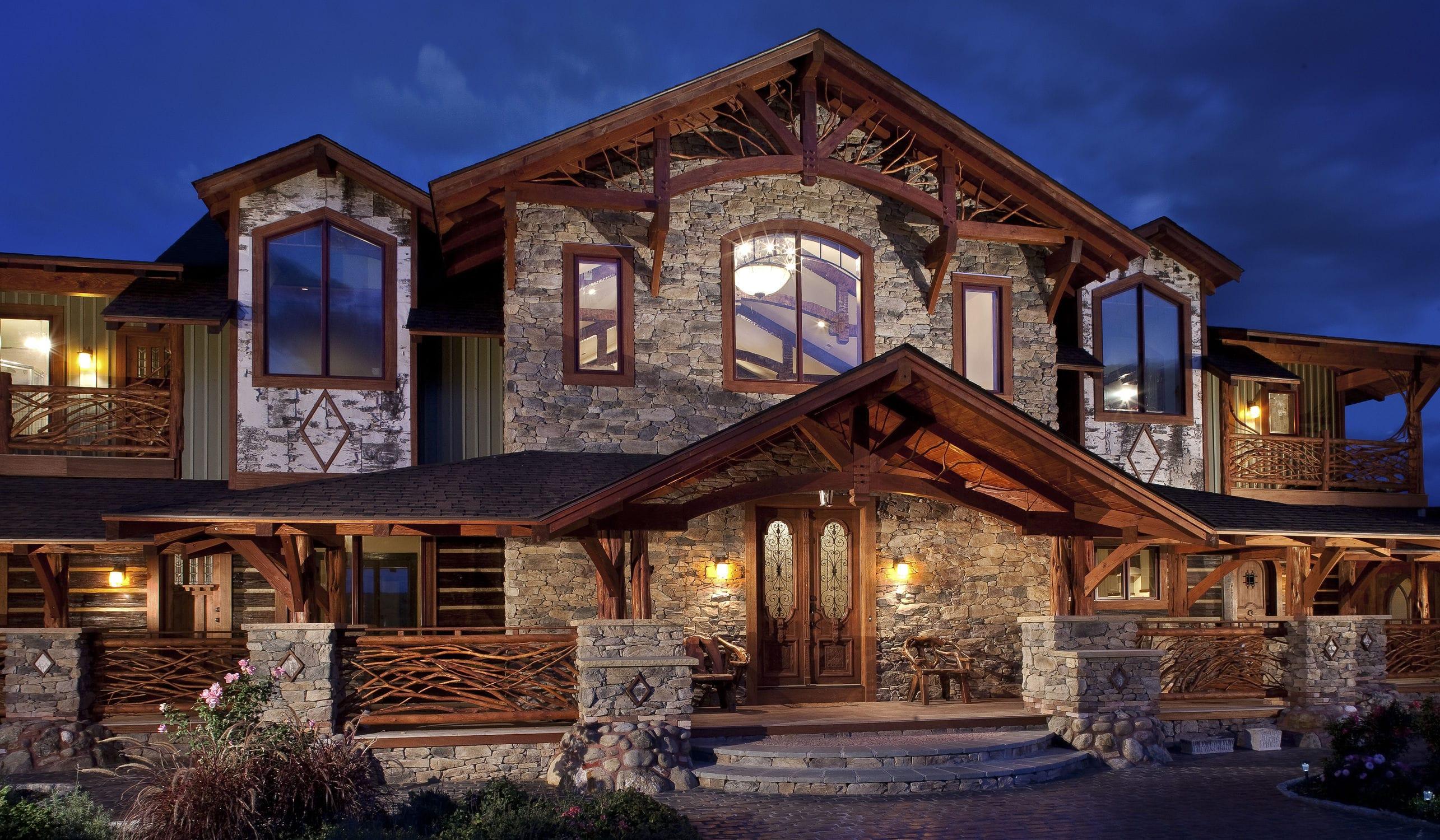 stone wall cladding exterior interior textured shadow rock