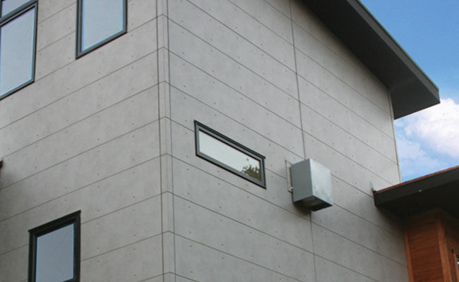 fiber cement panels installation cladding grooved panel siding cost