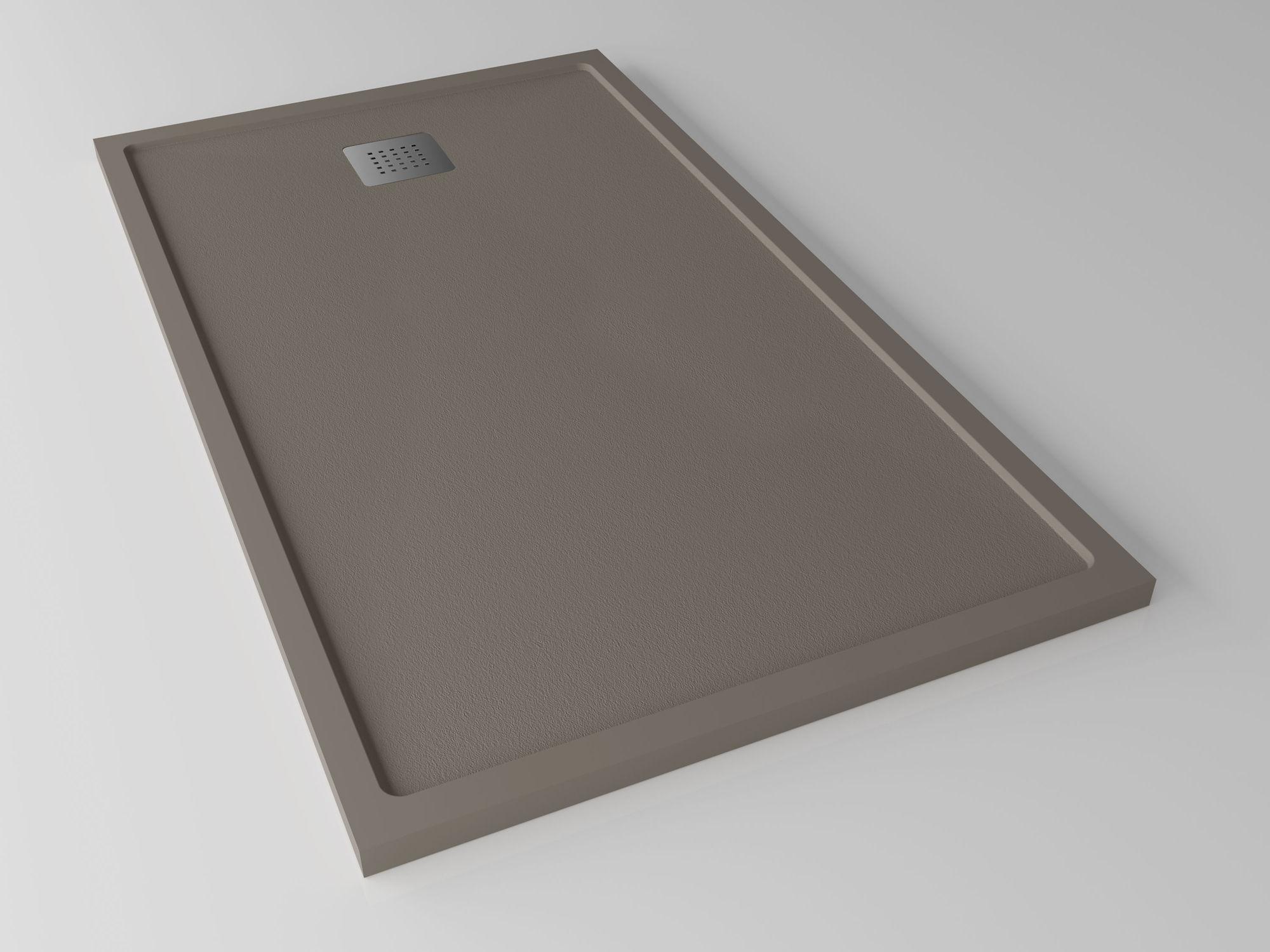Rectangular Shower Base / Solid Surface / Flush / Custom   QUADRO